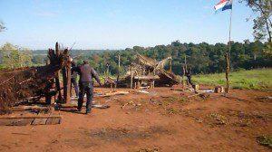 La comunidad Y´apo sufrio un grave ataque por parte de Capangas.