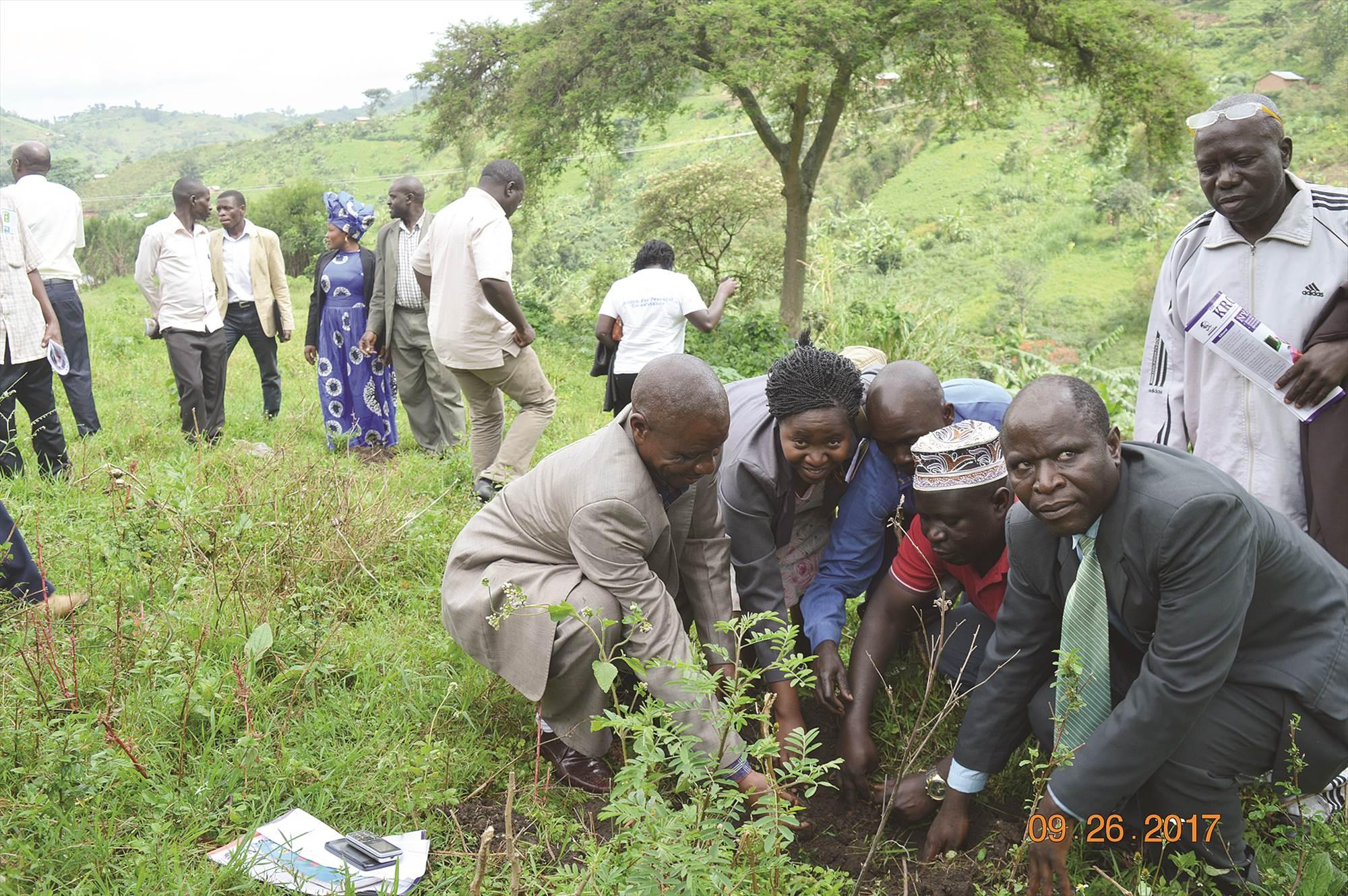 International Celebration for Peace day in Uganda